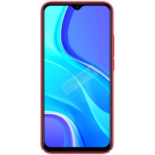 Nillkin Super Frosted Zadní Kryt pro Xiaomi Redmi 9 Bright Red 6902048201880
