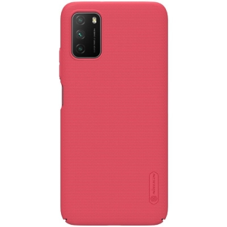 Nillkin Super Frosted Zadní Kryt pro Xiaomi Poco M3 Bright Red 6902048211926