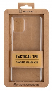 Tactical TPU Kryt pro Samsung Galaxy M31s Transparent 8596311126451
