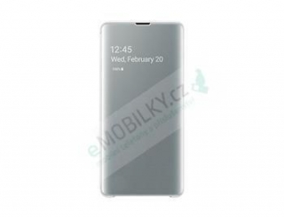 EF-ZG975CWE Samsung Clear View Cover White pro G975 Galaxy S10 Plus (originální) 8596311116858