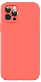 USAMS US-BH730 Magnetic Liquid Silicon Kryt pro iPhone 12 Pro Orange 6958444968896
