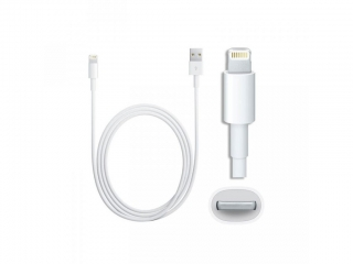 DATOVÝ KABEL PRO APPLE IPHONE 5, 6, 7, 8, X, 11 2m MFIMD819 (bulk) 8595217447479