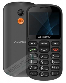 Allview D1 Senior Dual SIM Black