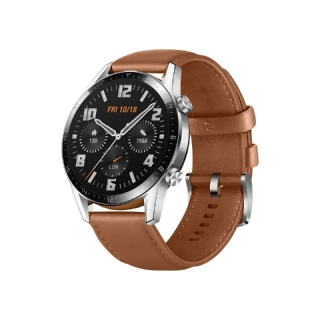 Huawei Watch GT 2 46mm, Brown Leather Strap