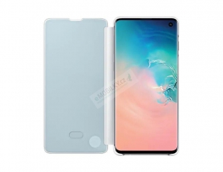 EF-ZG973CWE Samsung Clear View Cover White pro G973 Galaxy S10 (EU Blister) 8801643651282