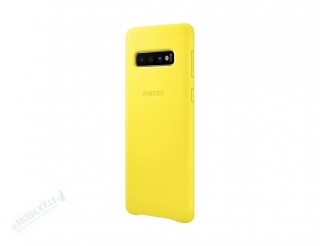 EF-VG973LYE Samsung Leather Cover Yellow pro G973 Galaxy S10 (EU Blister) 8801643644482