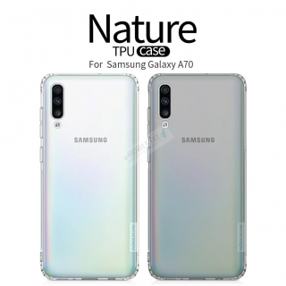 Nillkin Nature TPU Kryt pro Samsung Galaxy A70 Transparent 6902048176850