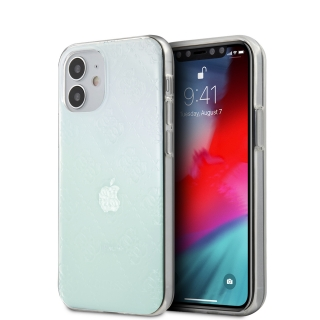 GUHCP12S3D4GIRBL Guess 3D Raised Zadní Kryt pro iPhone 12 mini 5.4 Iridescent 3700740481004