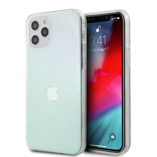 GUHCP12L3D4GIRBL Guess 3D Raised Zadní Kryt pro iPhone 12 Pro Max 6.7 Iridescent 3700740481028
