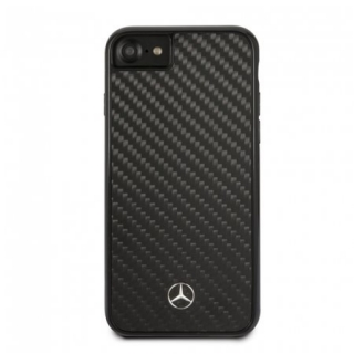 MEHCI8RCABK Mercedes Dynamic Carbon Kryt pro iPhone 8/SE2020 Black 3700740418574