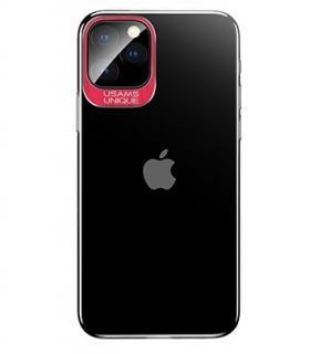 USAMS Classic Zadní Kryt pro iPhone 11 Pro Max Red 6958444980188