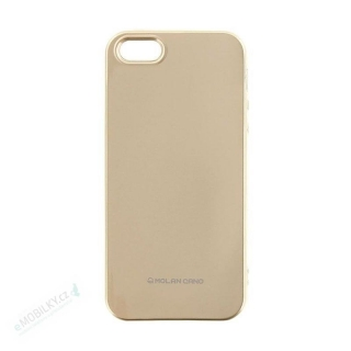 Molan Cano Jelly TPU Kryt pro Huawei P20 Lite Gold 8596311022906