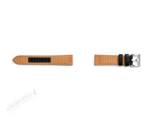 GP-R770BREECAC Samsung Watch Textilní Kvadrat Řemínek Orange 7613119111494