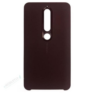 CC-505 Nokia Soft Touch Case pro Nokia 6.1 Iron Red (EU Blister)
