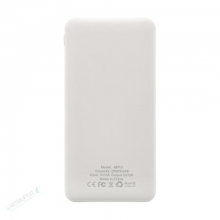 MyMAx MP12 PowerBank 20000mAh vč. LCD Type C/microUSB White (EU Blister)