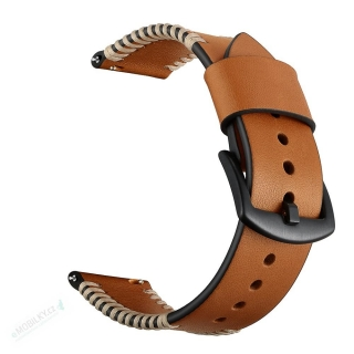 Tactical 087 Cowhide Kožený Řemínek pro iWatch 4 44mm Brown (EU Blister) 8596311072710