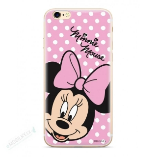 Disney Minnie 008 Back Cover pro iPhone XS Pink