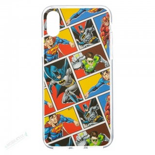 DC League of Justice Zadní Kryt 001 Multicolor pro iPhone X
