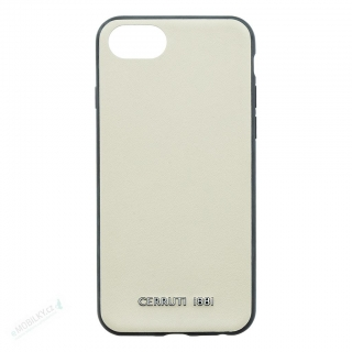 CEHCP8OWNLBE CERRUTI Leather TPU Pouzdro Beige for iPhone 8