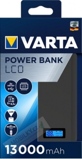 VARTA Power Bank LCD Dual USB 13000mAh (EU Blister)