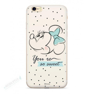 Disney Minnie 042 Back Cover White pro iPhone XS