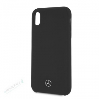 MEHCI61SILBK Mercedes Silicon/Fiber Case Lining Black pro iPhone XR