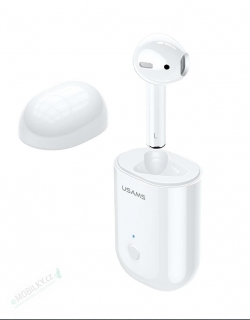 USAMS LB Mono Stereo Wireless Headset White