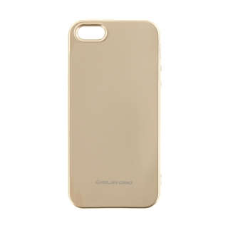 Molan Cano Jelly TPU Kryt pro iPhone 5/5S/SE Gold