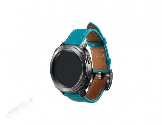 GP-R600BREEBAB Samsung Gear Sport Classic Leather Strap Blue 7613119112620