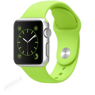 Tactical 481 Silikonový Řemínek pro iWatch 4 40mm Light Green (EU Blister) 8596311073359