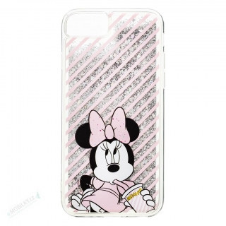 Disney Minnie 017 Glitter Back Cover Silver pro iPhone 6/7/8