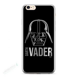 Star Wars Darth Vader Luxury Chrome 010 Kryt pro iPhone 6/6S/7/8 Plus Silver