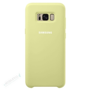 EF-PG955TGE Samsung Silicone Cover Green pro G955 Galaxy S8 Plus (EU Blister)