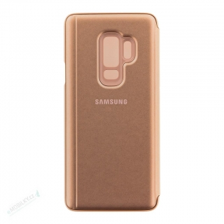 EF-ZG965CFE Samsung Clear View Cover Gold pro G965 Galaxy S9 Plus (EU Blister)