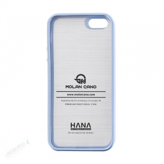 Molan Cano Jelly TPU Kryt pro iPhone 5/5S/SE Sky