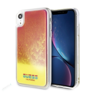 GUHCI61GLCPI Guess Glow in The Dark PC/TPU Kryt pro iPhone XR Sand/Pink (EU Blister)