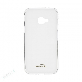 Kisswill TPU Pouzdro pro Samsung G390 Galaxy XCover 4 / G398 XCover 4s Transparent 8595642293702
