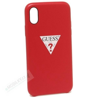 GUHCPXPTPURE Guess Triangle Hard Case Red pro iPhone X/XS