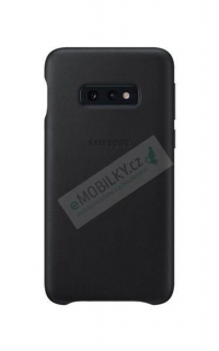 EF-VG970LBE Samsung Leather Cover Black pro G970 Galaxy S10e (EU Blister) 8801643644659