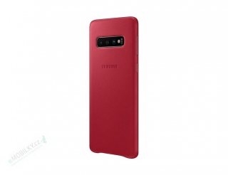 EF-VG973LRE Samsung Leather Cover Red pro G973 Galaxy S10 (EU Blister) 8801643644512