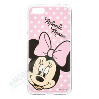 Disney Minnie 008 Back Cover pro Huawei Y7 2019 Pink