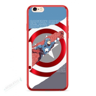 MARVEL Captain America 013 Zadní Kryt pro Huawei Mate 10 Lite Red 5902980015270