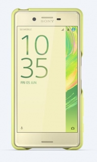 SBC30 Sony Style Back Cover pro Xperia X Performance Lime Gold