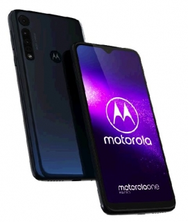 Motorola One Macro 4+64GB DS gsm tel. Deep Space