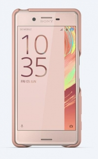 SBC30 Sony Style Back Cover pro Xperia X Performance Rose Gold