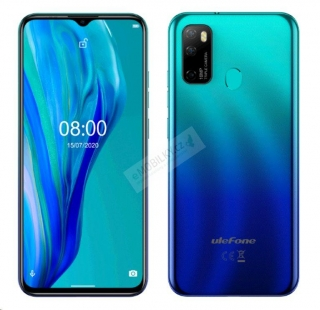 UleFone Note 9P 4+64GB DS gsm tel. Aurora Blue
