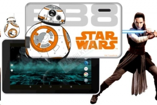 eSTAR Beauty HD 7 WiFi gsm tel. Star Wars BB8