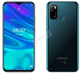 UleFone Note 9P 4+64GB DS gsm tel. Midnight Green