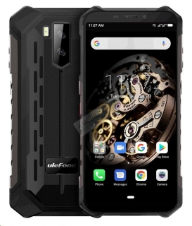 UleFone Armor X5 2020 DS 3+32GB gsm tel. Black