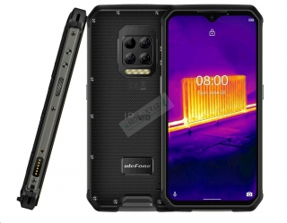 UleFone Armor 9 DS 8+128GB gsm tel. Black